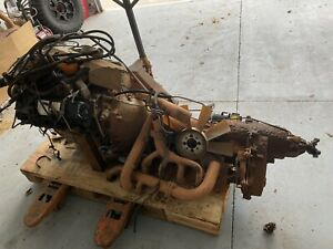 AM General Humvee 6.2 Engine Complete Powertrain TH400, NP218, Have Vids Running