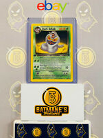 Dark Arbok 19/82 1st Edition NM/M MINT Team Rocket Rare Non-Holo Pokemon Card