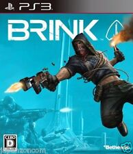 Used PS3 Brink SONY PLAYSTATION 3 JAPAN JAPANESE IMPORT