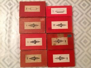 Vintage Watch Parts incl Balance Staffs Job Lot From Watchmakers Collection