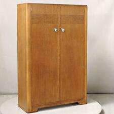 Wardrobe - Double - Art Deco, 1930s, Oak & Burr Oak (delivery available)