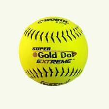 "Worth Sports Syco Super Gold Dot W00610536 Softball 12"" Icon, Yellow, 1 Ball"