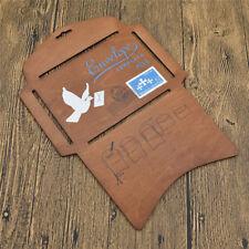 Envelope Making Template Stencil 27.5 x 19.4cm Wood DIY Manual Hand Craft Supply