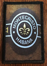 Montecristo Habana Cigar Tactical Military Army Badge Hook Flag USA  ISAF SWAT