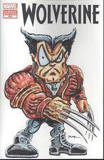 Wolverine #310 W/Original Art by RAK (Robert A Kraus)