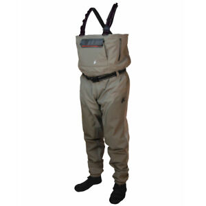Frogg Toggs Anura II Breathable Stockingfoot Chest Wader 2711149 Khaki S: MD NEW
