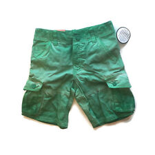 Route 66 Cargo Shorts Faded Distressed Light Green Boys 8 [a0628]