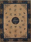 Antique Floral Art Deco Nichols Chinese Oriental Area Rug Hand-knotted Wool 8x10
