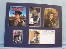 James Garner in Maverick & Support Your Local Sheriff  & Commemorative Envelope