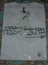 TEDDY SMITH T-Shirt TV SCREEN White XL Extra-Large 100% cotton