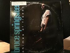 """BRUCE SPRINGSTEEN CHIMES OF FREEDOM 12"""" 1987 COLUMBIA 4C 44445 DJ PROMO"""