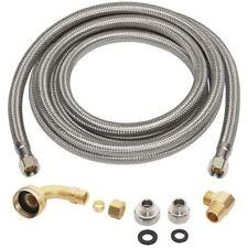 Everbilt 3/8 in. x 3/8 in. x 96 in. Stainless Steel Universal Dishwasher Supply