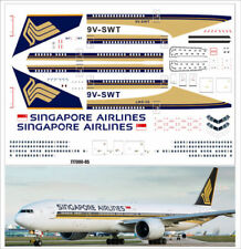 1/144 PAS-DECALS REVELL Decal for Boeing 777-300 Singapore