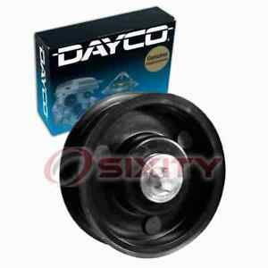 Dayco Smooth Pulley Drive Belt Idler Pulley for 2006-2011 Mercedes-Benz C350 vp