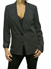 Button Blazer Spotted Coats & Jackets for Women