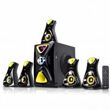 beFree Sound*5.1 CHANNEL Surround BLUETOOTH Speaker System*with USB,SD,FM*Yellow