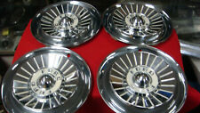 SET OF 4 1957 FORD  HUBCAPS 14''  FAIRLANE 500 OLD SCHOOL RAT ROD