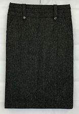 MONSOON Womens Grey Wool Skirt Size 8