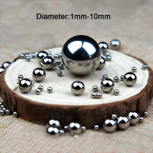 304 Stainless Steel Ball Dia 1mm-10mm High Precision Bearing Balls Smooth Ball