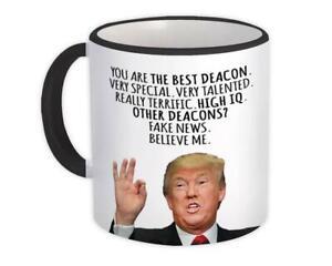 Gift Mug : DEACON Funny Trump Best Birthday Christmas Jobs