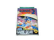 SONIC THE HEDGEHOG 2 Sega Game Gear videogame brand new factory sealed