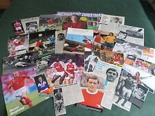 ARSENAL -  FOOTBALL TEAM - CLIPPINGS /CUTTING PACK
