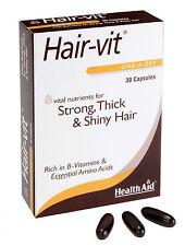 HealthAid hair-vit forte e lucente Capelli (Hair vitamine) 30 CAPSULE