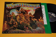 MOLLY HATCHET LP TAKE NO PRISONERS 1°ST ORIG OLANDA 1981 EX+ TOP COLLECTORS