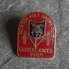 Vintage Pin - Shriners Masonic Jackson Hole Lapel Cutter Races Cloisonne 1989
