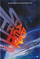 STAR TREK IV MOVIE POSTER Original SS 27x40 Advance Style LEONARD NIMOY 1986