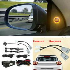 SUV Car Blind Spot Ultrasonic Sensor Monitoring Warning Detection Assist System