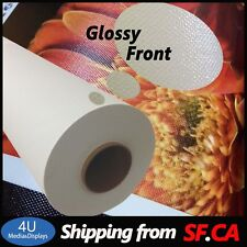 """24""""x40ft,Glossy Polyester Cotton Inkjet Printing Canvas for Water-based Printer"""