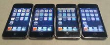 Lot of 4 Apple iPod Touch 2nd Gen A1288 8GB Black - SPOTS/LINES on LCD