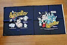 "Astro Boy Super Hero Pillow Fabric panel 40"" x 20"" Cotton Nos ~ Cosmic Artifacts"