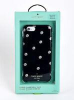 Kate Spade iPhone 6 iPhone 6s Hard Snap Case - Scattered Pavilion Black / Dots