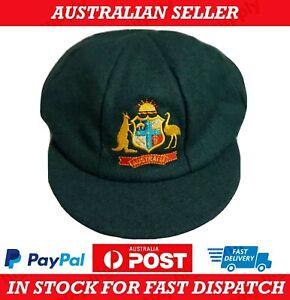 Australia Baggy Green Cricket Cap -- (Big Bash Hat Bat Ball Sport Game India) --