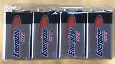 4 Energizer Max 9V 9 Volt 522 Alkaline Batteries  Exp.12/2024