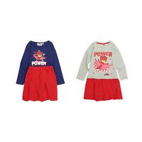 Girls  Pj Masks Long Sleeve Dress |  Owlette Dress