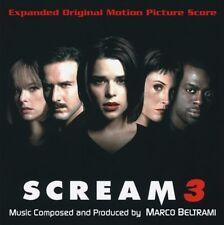 "Marco Beltrami:  ""Scream 3""  (Soundtrack Score-CD)"