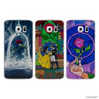 Beauté Et La Bête Coque/Étui Pour Samsung Galaxy S6 Edge (G925) / Silicone Gel