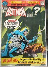 1971 Brave & the Bold #95 Batman & ? (Plastic Man) DC Comics VG Bagged & Boarded