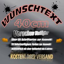 Wunschtext Aufkleber  >40cm< Vorschau Schriftzug  Auto Heckscheibe Firma LKW