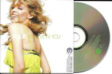 CD CARTONNE CARDSLEEVE 2 TITRES KYLIE MINOGUE BELIEVE IN YOU 2004 TBE