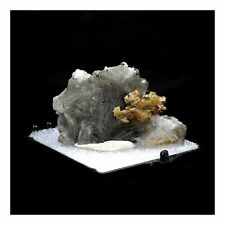 Stolzite sur Cerusite. 129.5 ct. Sainte-Lucie Mine, Occitanie, France.