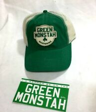 Red Sox Fenway Park Green Monster Monstah Truckers Hat Cap Sticker Decal Lot