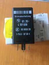 Stromabschaltung Relais E39 BMW 61.354101608 Ruhestromabschaltrelais