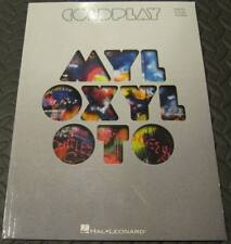 Coldplay - MYLO XYLOTO 2011 Songbook for Piano Vocal Guitar Song Book