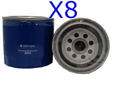 8x Oil Filters Suits Z89A FORD CORTINA TF ESCORT FALCON V8 AU AUII AUIII TRANSIT