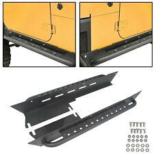 For 1997-2006 Jeep Wrangler TJ Rock Slider Rocker Guard Nerf Bar Step Armor