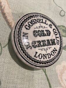 John Gosnell & Co Ltd Cold Cream Pot Lid A/f